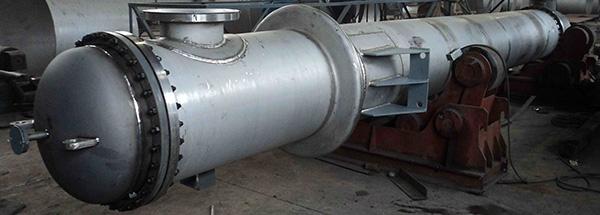 钛管壳式换热器